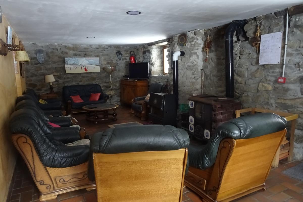 Le coin détente, salon - Location de vacances - Freissinières