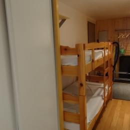 lits superposés, espace cabine - Location de vacances - La Grave