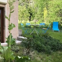 jardin en été - Location de vacances - Briançon