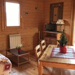 Domaine de Malcor, espace salon/séjour  - Location de vacances - Jarjayes