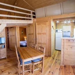 Domaine de Malcor espace cuisine, séjour - Location de vacances - Jarjayes