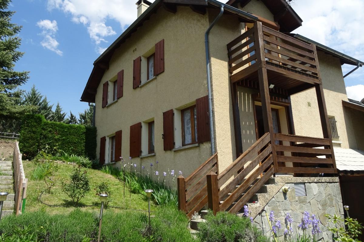 Balcon de serre ponçon la maison et le jardin privé - Location de vacances - Puy-Sanières
