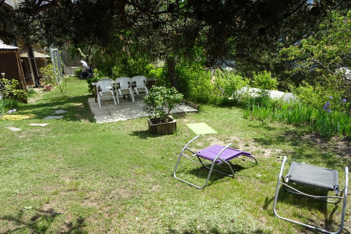 Balcon de serre ponçon  le jardin privé - Location de vacances - Puy-Sanières
