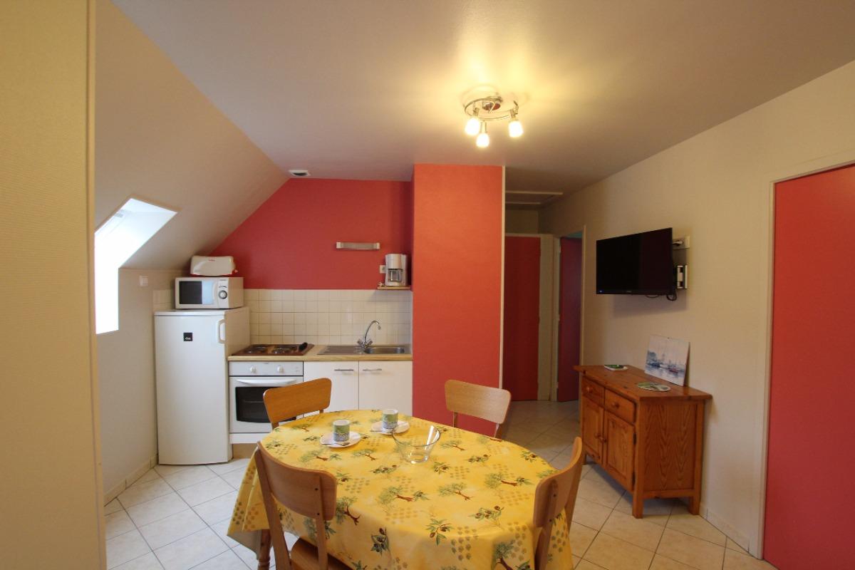 Coin-cuisine - Séjour - Location de vacances - Lessay