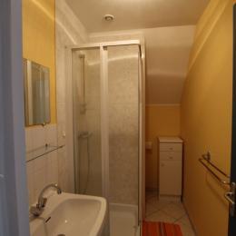 Salle d'eau - WC - Location de vacances - Lessay