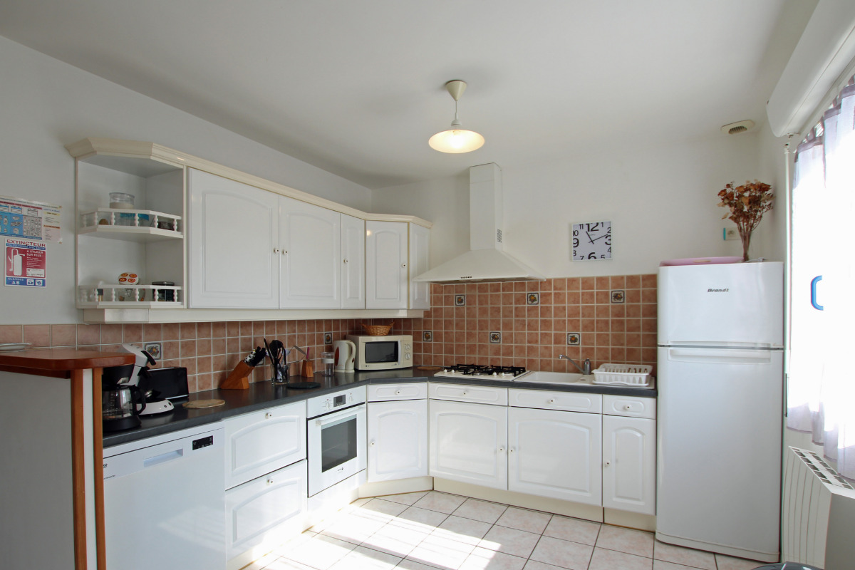 la salle à manger - Location de vacances - Les Moitiers-d'Allonne