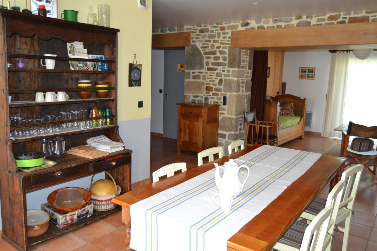 séjour - salle à manger - Location de vacances - Dragey-Ronthon