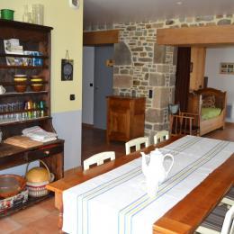 terrasse et jardin - Location de vacances - Dragey-Ronthon