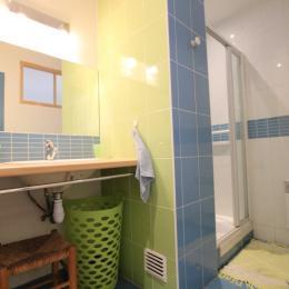 Salle d'eau - Location de vacances - Dragey-Ronthon
