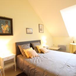 chambre lit 140 - Location de vacances - Barneville-Carteret
