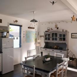 Le coin cuisine. - Location de vacances - Le Rozel