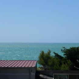Vue mer du Séjour-Cuisine, Normandie - Location de vacances - Agon-Coutainville
