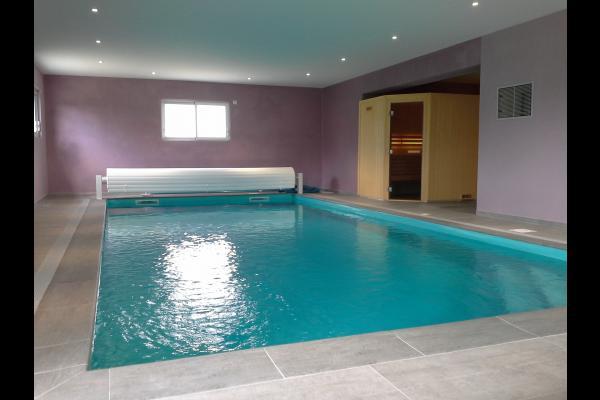 piscine et spa communs - Location de vacances - Denneville