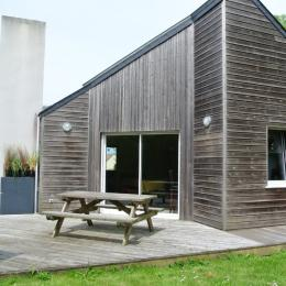 terrasse - Location de vacances - Blainville-sur-Mer