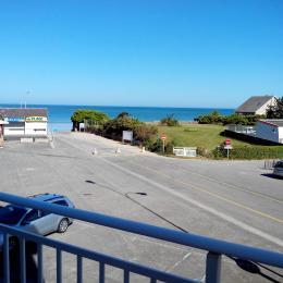 Vue du balcon sur la plage - Location de vacances - Carolles