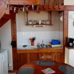 Autre vue de la kitchenette - Location de vacances - Carolles
