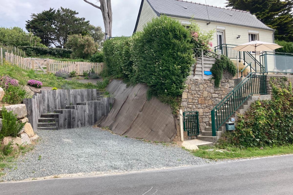 Le Meublé et sa place de parking - Location de vacances - Les Pieux