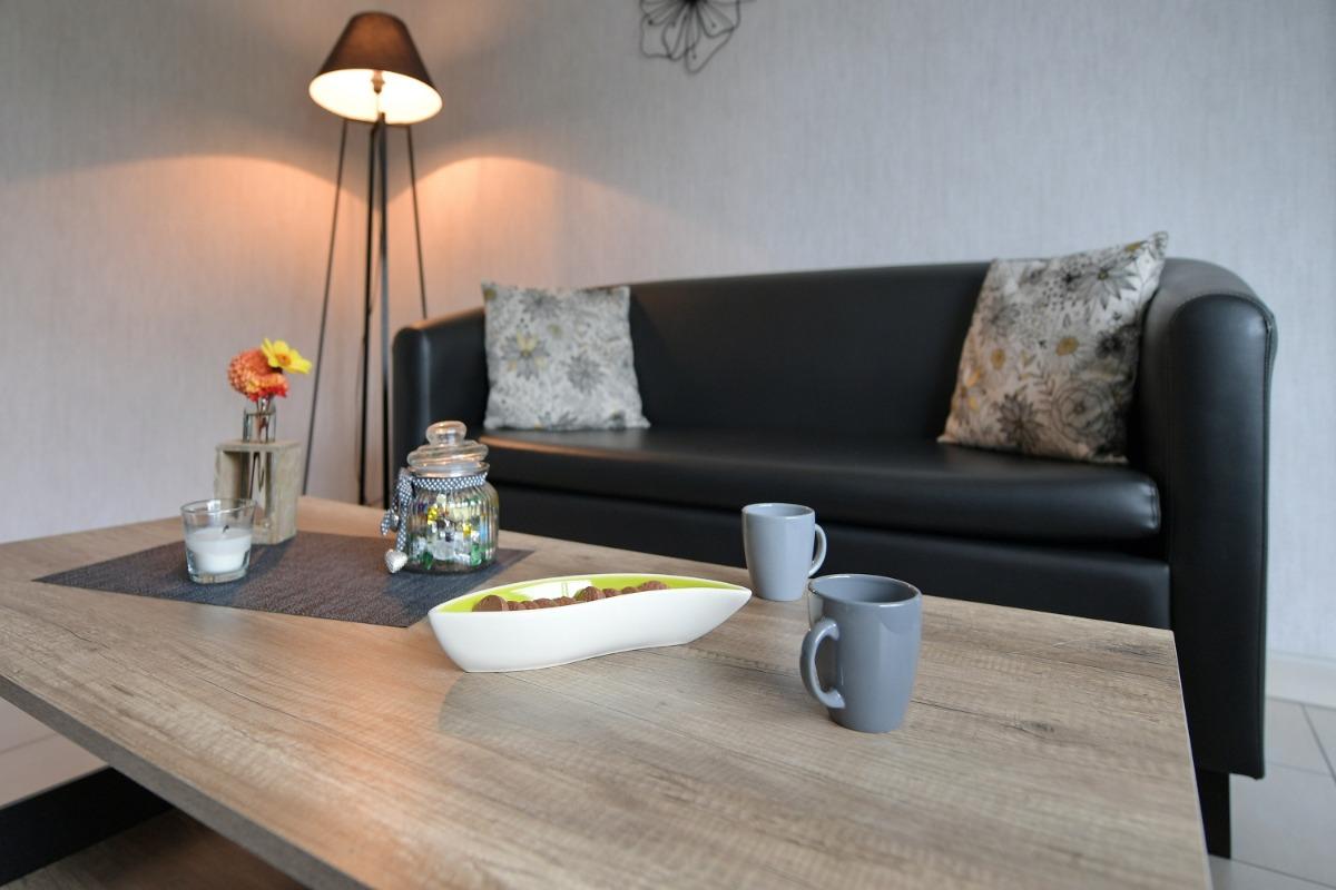 La cuisine - Location de vacances - Blainville-sur-Mer