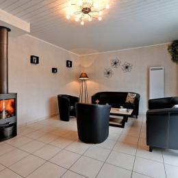 Le salon - Location de vacances - Blainville-sur-Mer