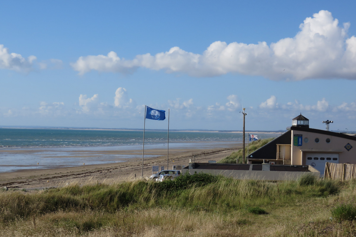 La plage et la cale à 150 m de la maison - Location de vacances - Gouville-sur-Mer