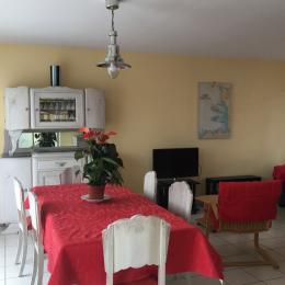 Le séjour - Location de vacances - Gouville-sur-Mer