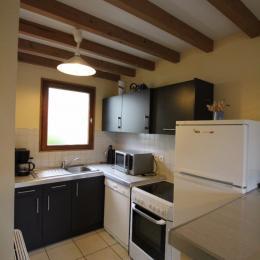 cuisine américaine - 1 - Location de vacances - Hauteville-sur-Mer