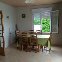 Salle à manger / Dining room - Location de vacances - Ravenoville