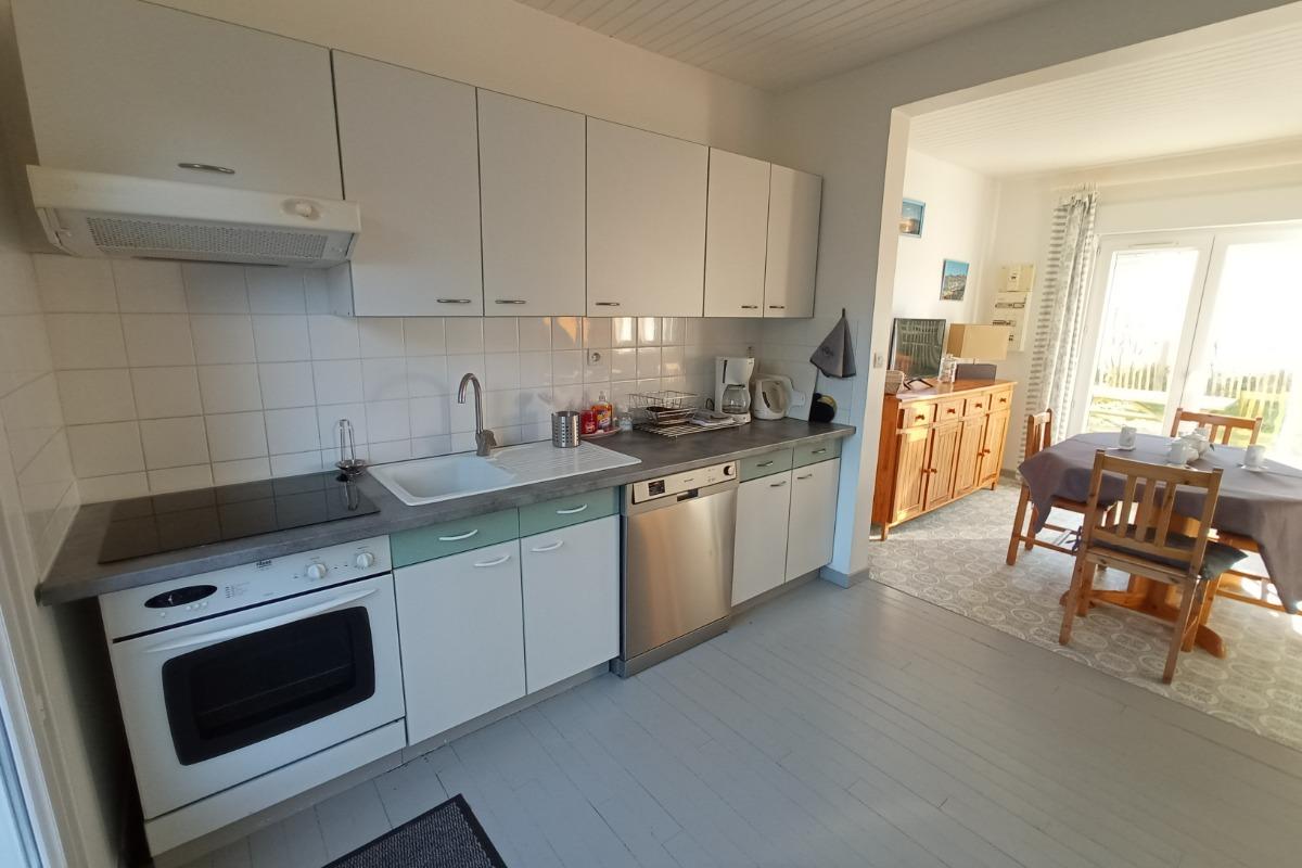 coin salon très lumineux - Location de vacances - Saint-Germain-sur-Ay