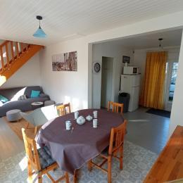 Terrasse et jardin privés - Location de vacances - Saint-Germain-sur-Ay