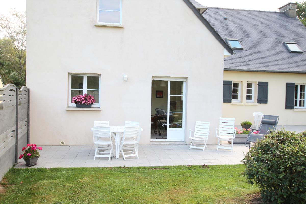 Terrasse - Location de vacances - Saint-Aubin-des-Préaux