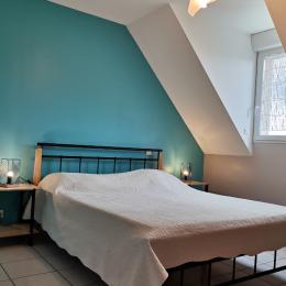 Chambre turquoise - Chambre d'hôtes - Courtils