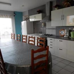 Salle d'eau commune - Chambre d'hôtes - Courtils