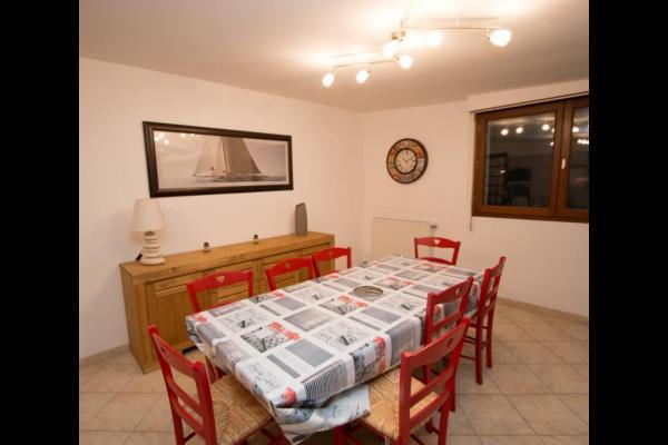 La salle à manger - Location de vacances - Agon-Coutainville