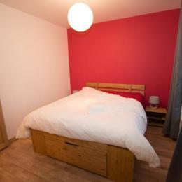 La chambre des parents (160 X 200) - Location de vacances - Agon-Coutainville