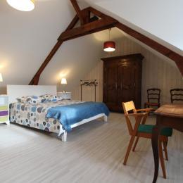 chambre 4 - Location de vacances - Dragey-Ronthon