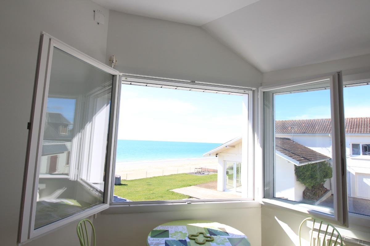 vue mer - Location de vacances - Coudeville-sur-Mer
