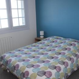 chambre bleue au rez-de-chaussée - Location de vacances - Barneville-Carteret