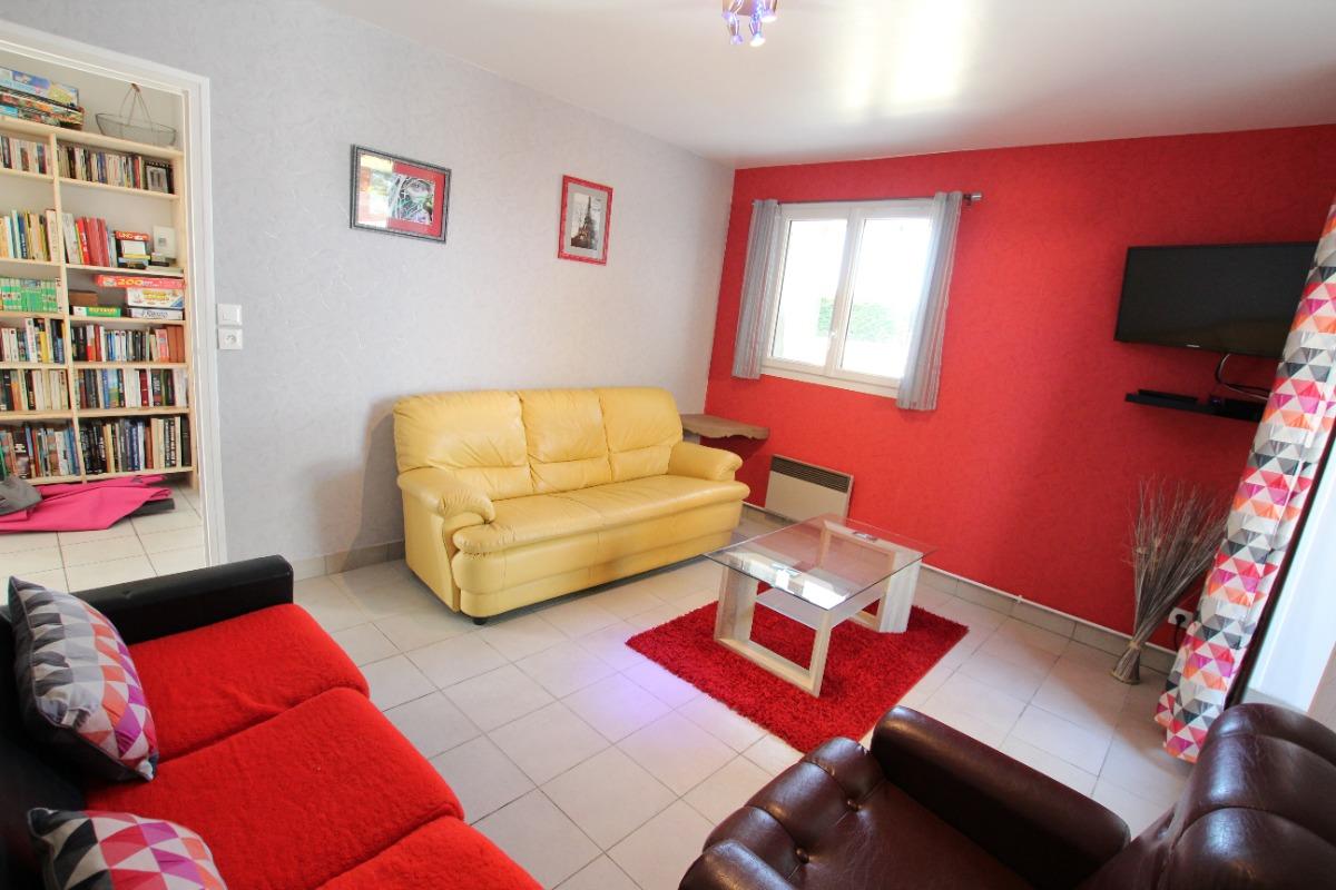 Salon indépendant - Location de vacances - Blainville-sur-Mer