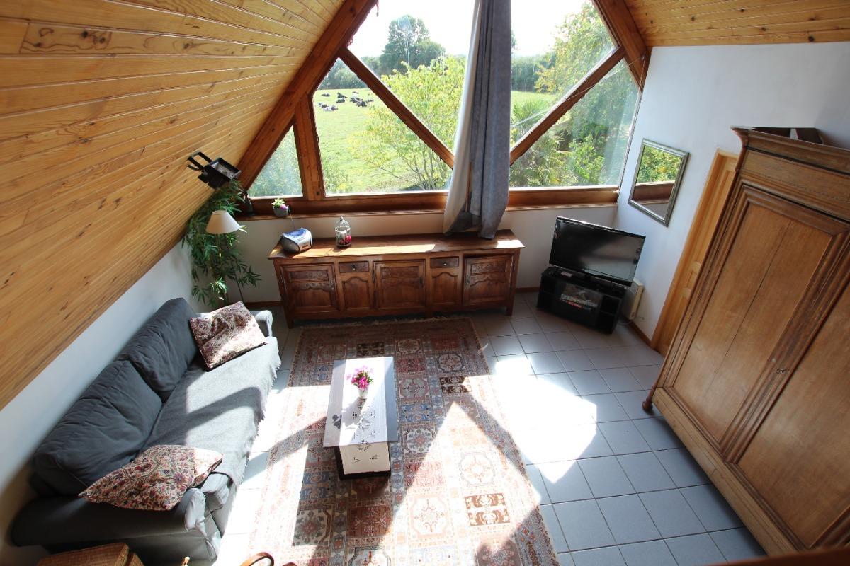 Salon - Location de vacances - Le Mesnil-Amey