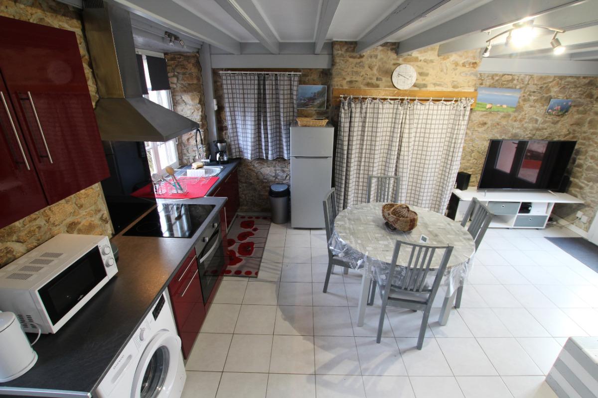 Pièce principale - Location de vacances - Saint-Germain-des-Vaux