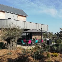 la façade et le toit terrasse - Location de vacances - Barneville-Carteret