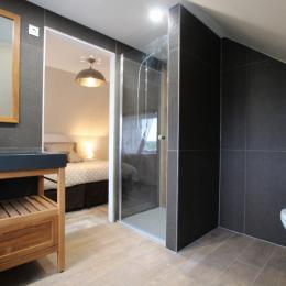 salle d'eau privative 2ème étage - Location de vacances - Barneville-Carteret