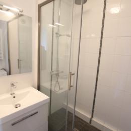 La salle d'eau - Location de vacances - Donville-les-Bains
