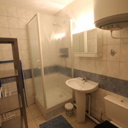 Entrée et parking de la résidence - Location de vacances - Donville-les-Bains