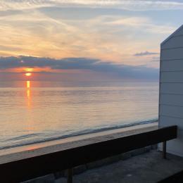 terrasse vue mer - Location de vacances - Brehal St Martin