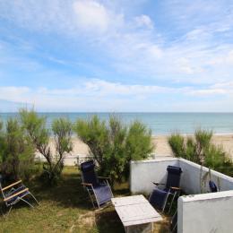Espace détente au bord de plage - Location de vacances - Urville-Nacqueville