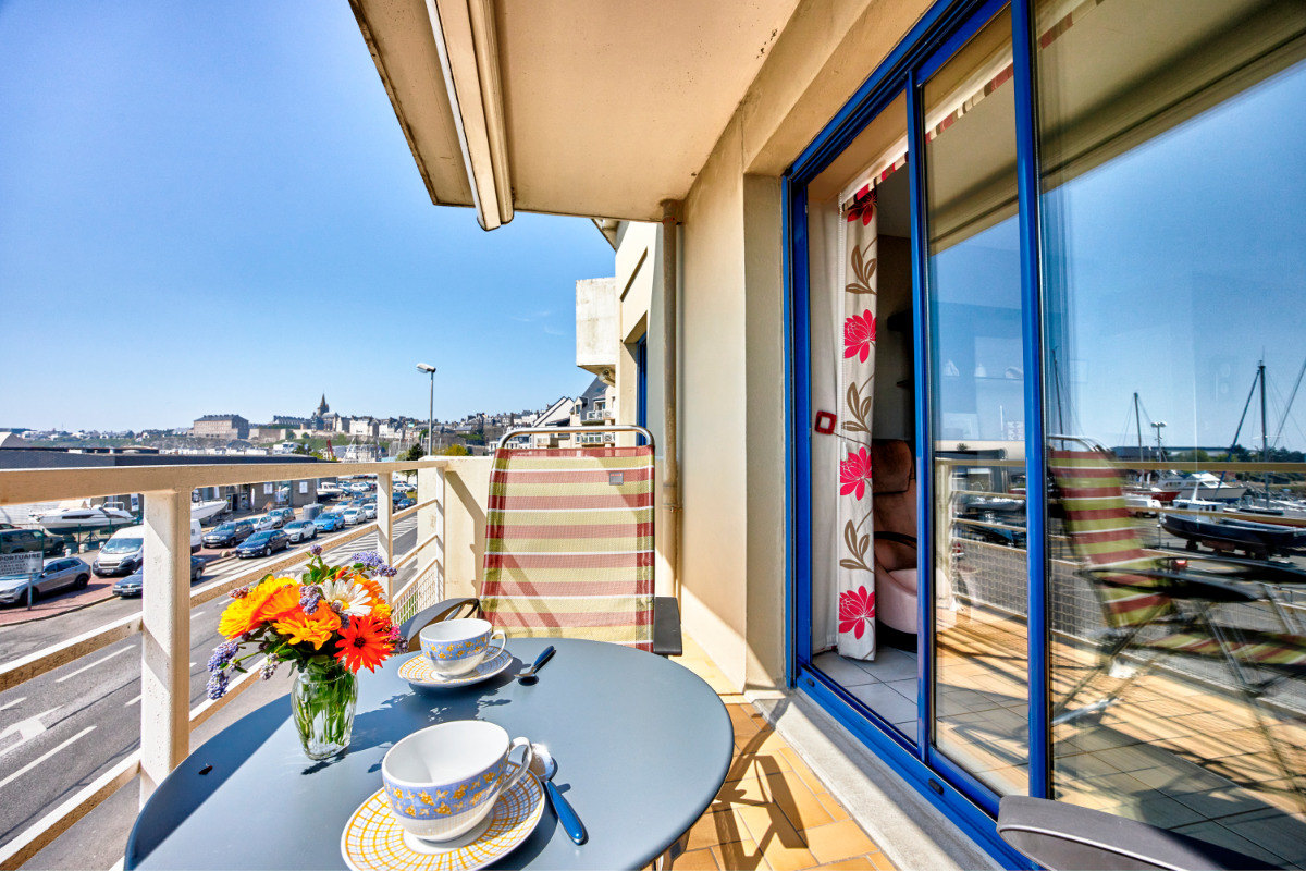 Les Amiraux II - La vue - Location de vacances - Granville