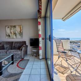 Les Amiraux II - Le séjour - Location de vacances - Granville