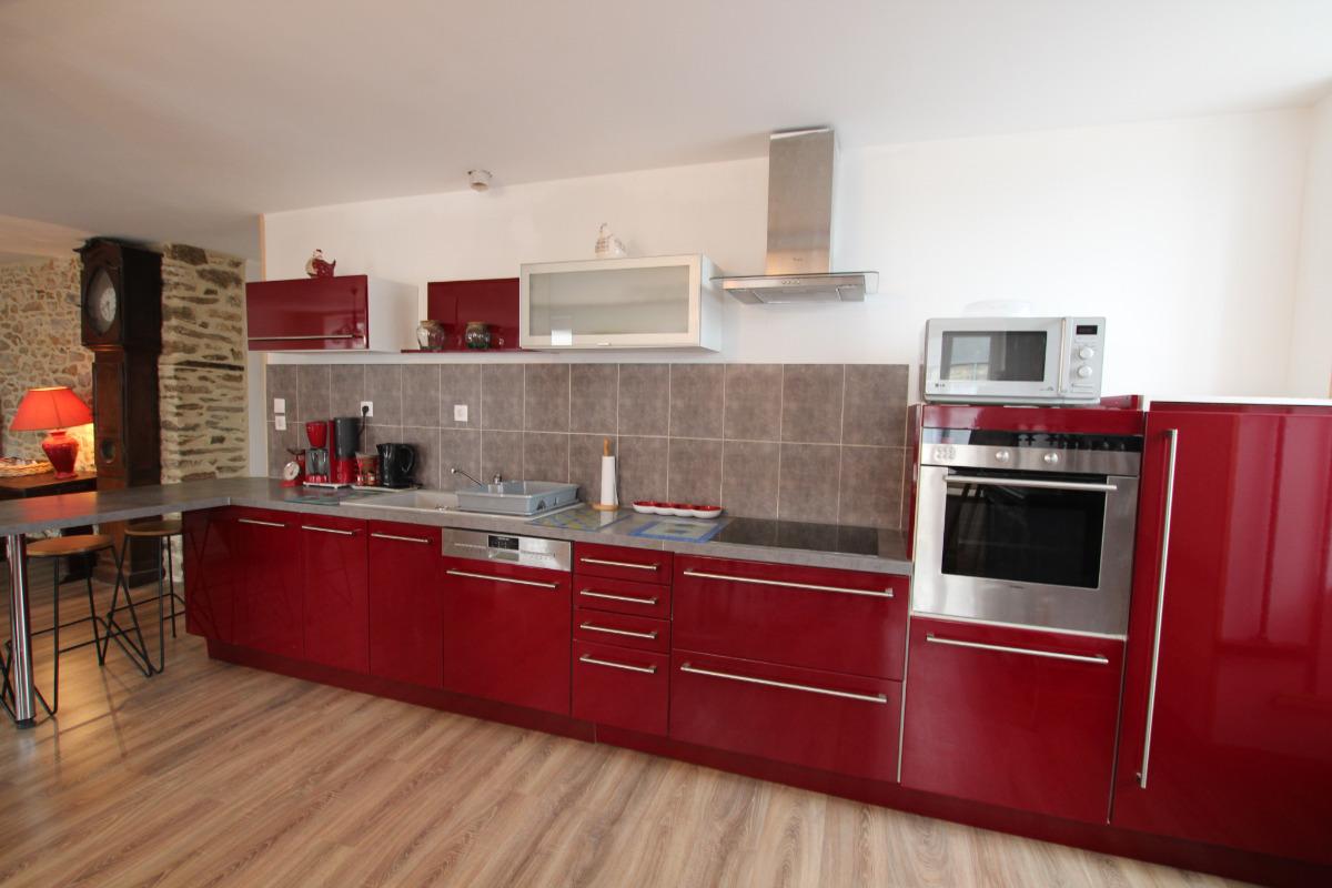 Espace cuisine - Location de vacances - Quettehou