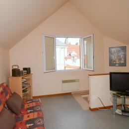 Espace salon - Location de vacances - Ville-Dommange